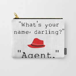 What's your name, darling? Carry-All Pouch