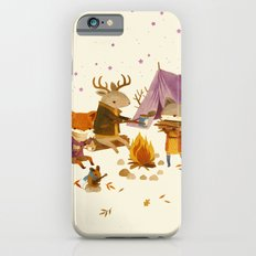 Critters: Fall Camping iPhone 6 Slim Case