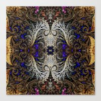 ornate Canvas Prints featuring Ornate by RingWaveArt