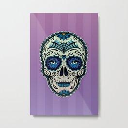 Sugar Skull (Calavera) by Adam Miconi Metal Print