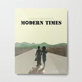 Modern times Metal Print
