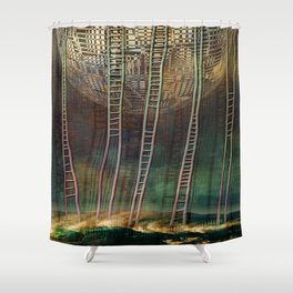 Atlante 13-06-16 / STAIRS Shower Curtain