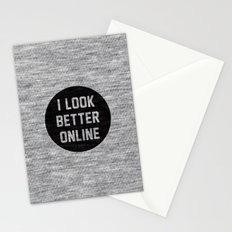 I Look Better Online Stationery Cards