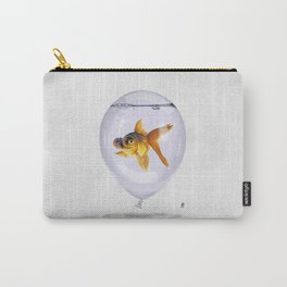 Inflated (Wordless) Carry-All Pouch