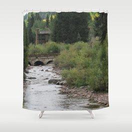 Mountain Hangout Shower Curtain