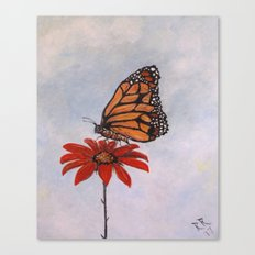 Monarch Majesty Canvas Print
