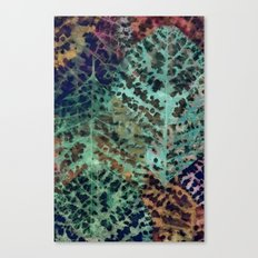 Colorful leaves Canvas Print