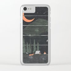 Wish I Was Camping... Clear iPhone Case