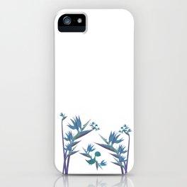Floral Dragon Paradise 2 iPhone Case