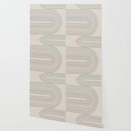 Arch Art, Modern Pattern, Mid Century  Wallpaper