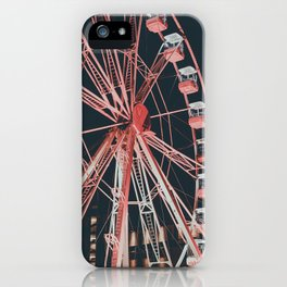 Red wheel iPhone Case