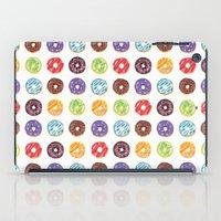 doughnut iPad Cases featuring Doughnut delights by Phibbit