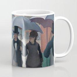 Paris Street; Rainy Day,  1877, Gustave Caillebotte Coffee Mug