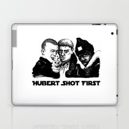 Hubert shot first Laptop & iPad Skin
