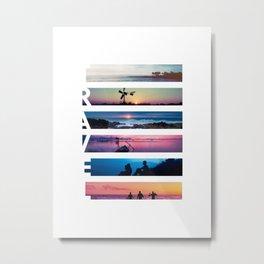 Travel landscapes Metal Print