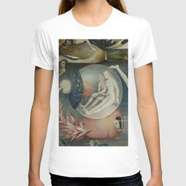 THE GARDEN OF EARTHLY DELIGHTS (detail) - HIERONYMUS BOSCH T-shirt