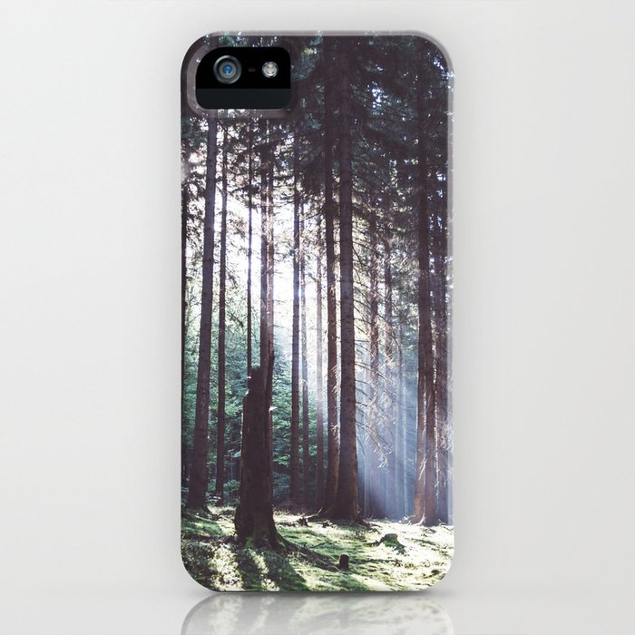 Magic forest - Landscape and Nature Photography iPhone Case