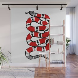 Snakey Wall Mural