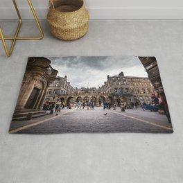 Royal Mile in Edinburgh, Scotland Rug