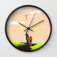 the last of us Wall Clocks featuring The Last of us by Crisis