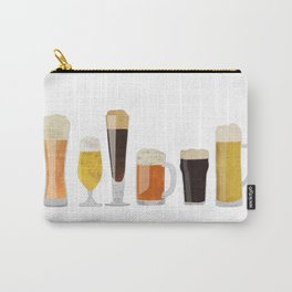 Beer Mugs Carry-All Pouch