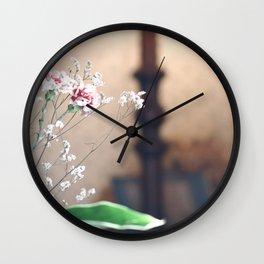 Fragile Coziness  Wall Clock