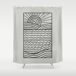 LANDL/NES Shower Curtain