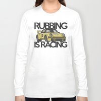 porsche Long Sleeve T-shirts featuring Porsche Racecar by CarGuyCam