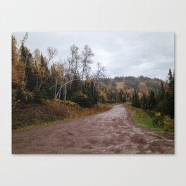 Lutsen in Autumn Canvas Print
