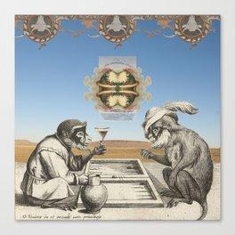 Gambling Canvas Print