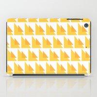 orange pattern iPad Cases featuring Orange Pattern by MarianaLage