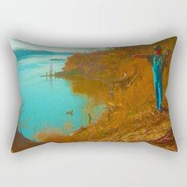 at the Missouri... Rectangular Pillow