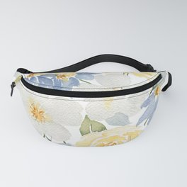 Paper White Fanny Pack