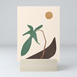 Minimal New Leaf Mini Art Print
