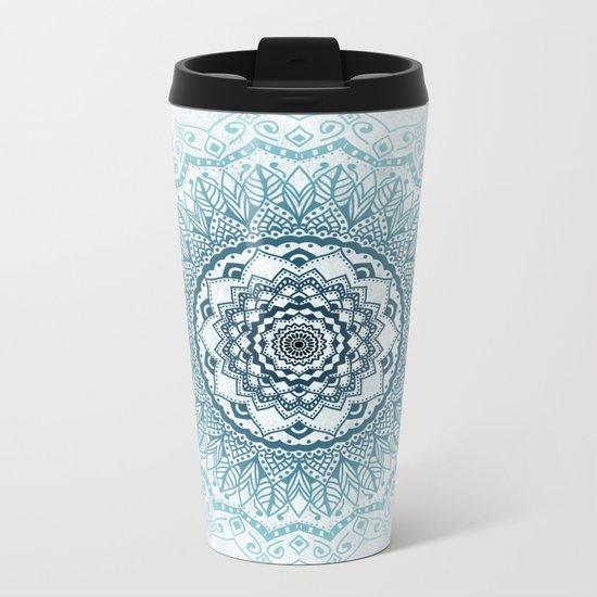 Frankfurter Mandala Metal Travel Mug