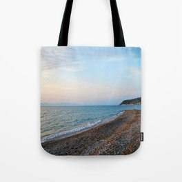 Greek Beach Tote Bag
