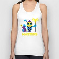 skeletor Tank Tops featuring SKELETOR by Maioriz Home