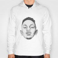 kendrick lamar Hoodies featuring Kendrick Lamar by Omar Guzman