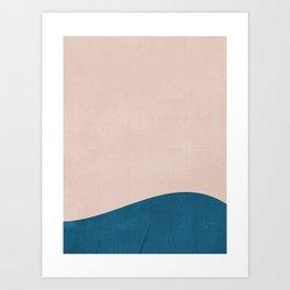 A Praia Dela Art Print