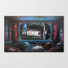 A Night At The Movies: Halloween Canvas Print
