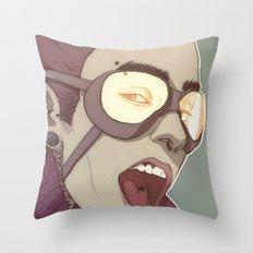 sunlighthurtsmyeyes Throw Pillow