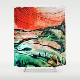 RiverDelta Shower Curtain