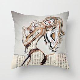 Solace Traveler Throw Pillow