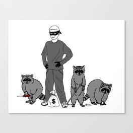 Danger Kids: Bandits Canvas Print
