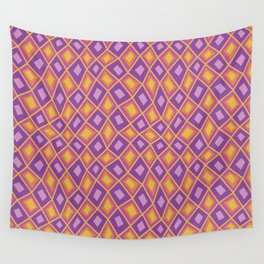 Diamonds are Forever-Fiesta Colors Wall Tapestry