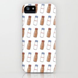 coffee milk iPhone Case
