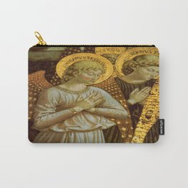 1459 Benozzo Gozoli - Angels (detail) Carry-All Pouch