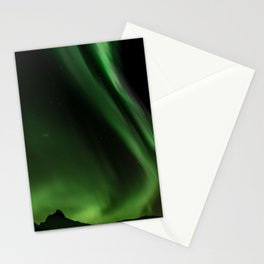 Northern Lights in Norway 05 Stationery Cards