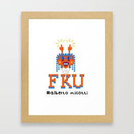 F**K YOU Framed Art Print
