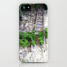 Swiss Barn and Ladder iPhone Case
